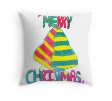 Jingle Bell Christmas Throw Pillow