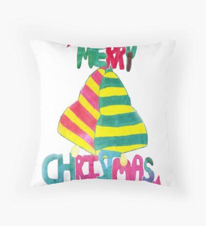 Jingle Bell Christmas Throw Pillow