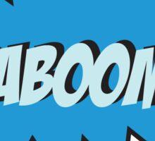 KABOOM Sticker