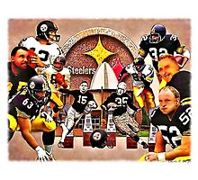 Pittsburgh Steelers Hall of Fame Offensive Legends Photographic Print