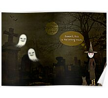 Wardrobe Failures of Halloween Poster