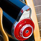 Taillight Fin on 1950s Woody Wagon by Kenneth Keifer