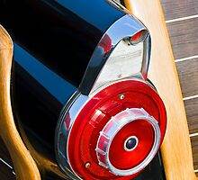 Taillight Fin on 1955 Ford Country Squire Wagon by Kenneth Keifer