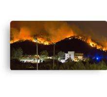 Ibiza Burning Canvas Print