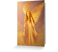 A CHRISTMAS ANGEL Greeting Card