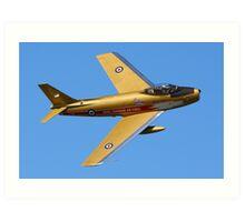 F86 Sabre Jet Art Print