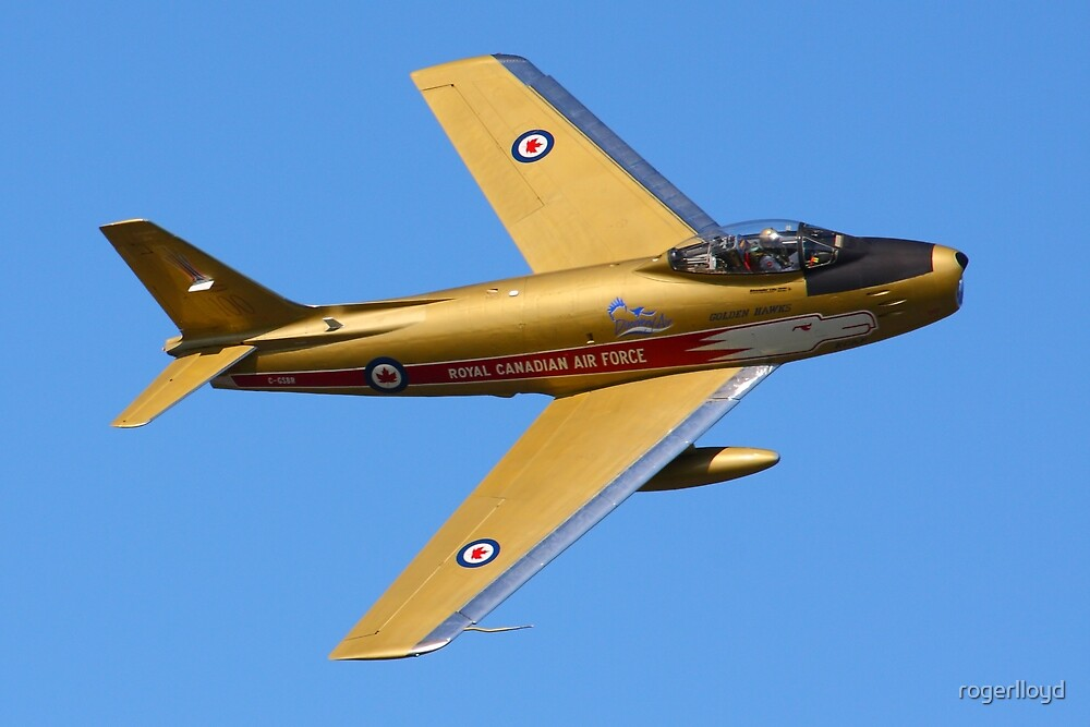 Quot F86 Sabre Jet Quot By Rogerlloyd Redbubble