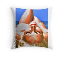 Summertime indulgence of sun Throw Pillow