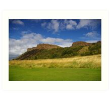 Salisbury Crags Art Print