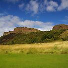 Salisbury Crags by Susan Dailey