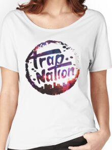 Trap Nation Galaxy Women's Relaxed Fit T-Shirt