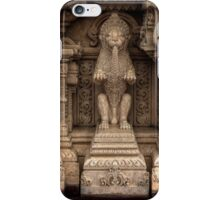 Guardian of the Mandir iPhone Case/Skin