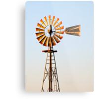 Classic Midwester American Windmill Metal Print
