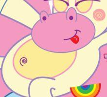 Unicorns <3 Candy Sticker