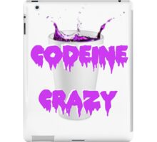 codeine crazy  iPad Case/Skin