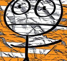 HAPPY STICKMAN Sticker