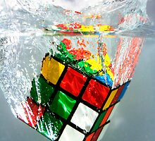 rubix cube by Parker Fairey