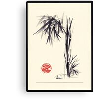 """Gray Morning"" Huntington Library & Gardens Plein Air drawing/painting Canvas Print"