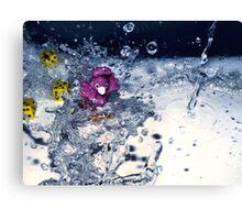 Water fun Canvas Print