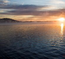 Foggy Sunrise at Lake Burley Griffin in Canberra/ACT/Australia (7) by Wolf Sverak
