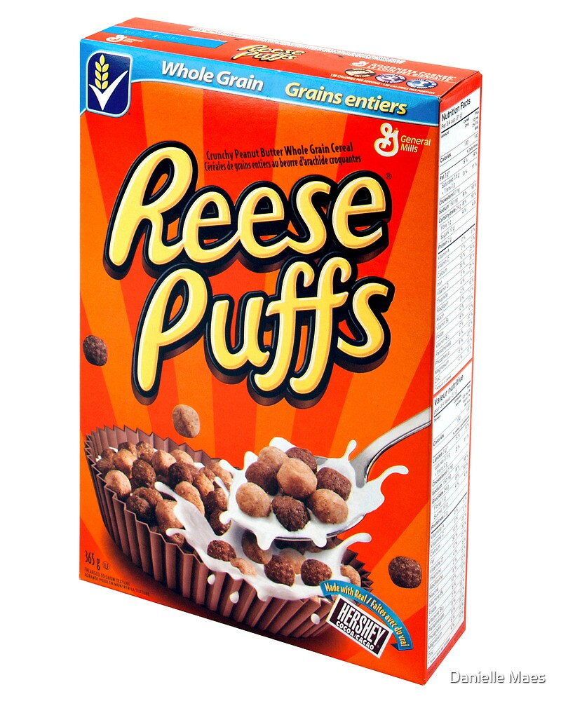 Reese Puffs by Danielle Maes
