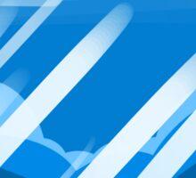 Steven Universe BLUE Background Sticker