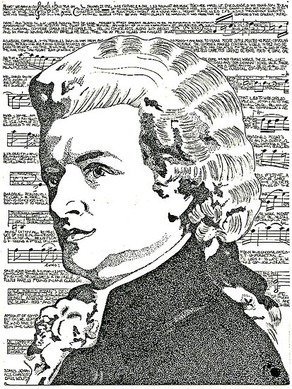The Mozart  Effect by DrkCDesigns
