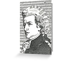 The Mozart  Effect Greeting Card
