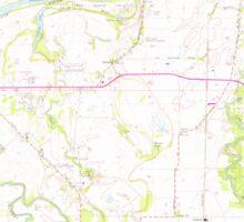 USGS Topo Map Oregon Riverside 281281 1969 24000 Sticker