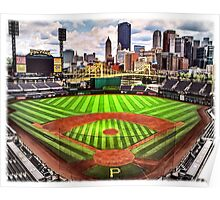 "PNC Park - ""Home of the Pittsburgh Pirates"" Poster"