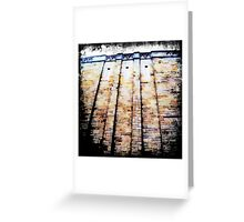 City Walls II Greeting Card