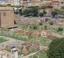 Rome- Forum Romanum Sticker