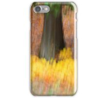 Trees - 30 - Impressions iPhone Case/Skin