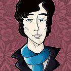 Benedict Cumberbatch, as Sherlock Holmes by AimeeGallifrey