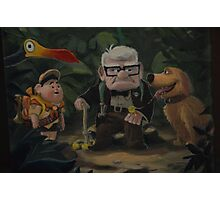 UP Dug Russell Kevin Carl UP Characters Movie Photographic Print