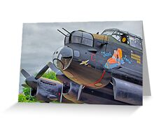 Just Jane ! - HDR Greeting Card