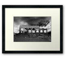Past and Present Framed Print