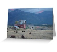 dusk approaches Greeting Card