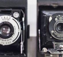 Vintage cameras Sticker