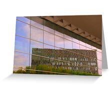 Reflective facade Greeting Card