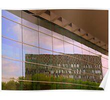Reflective facade Poster