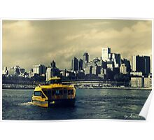 NY water-taxi Poster