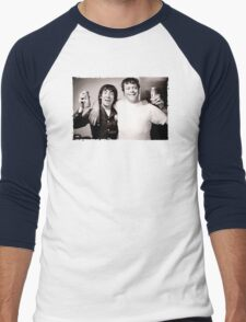 Keith Moon with Oliver Reed the who funny drunk legends mens t shirt T-Shirt
