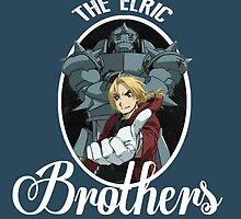Elric brothers by kurticide