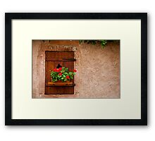 Beautiful Window 5 Framed Print