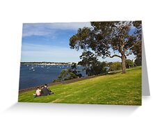 Corio Bay at Geelong Greeting Card