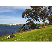 Corio Bay at Geelong Photographic Print