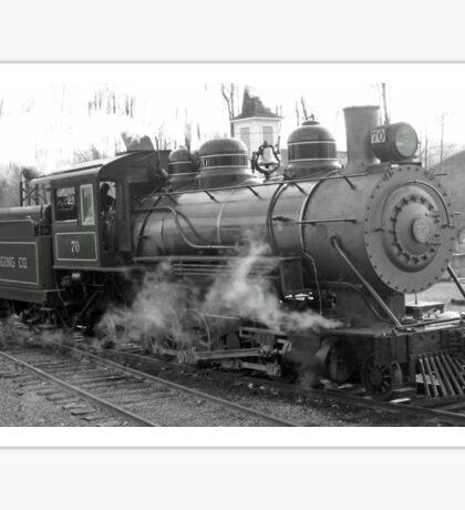 Mt. Rainier Scenic Railroad engine 70 Sticker
