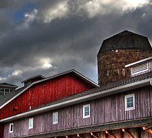 Indiana Barn by Matt Erickson