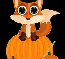 Halloween Fox by Adamzworld